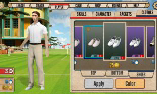 tennis android game