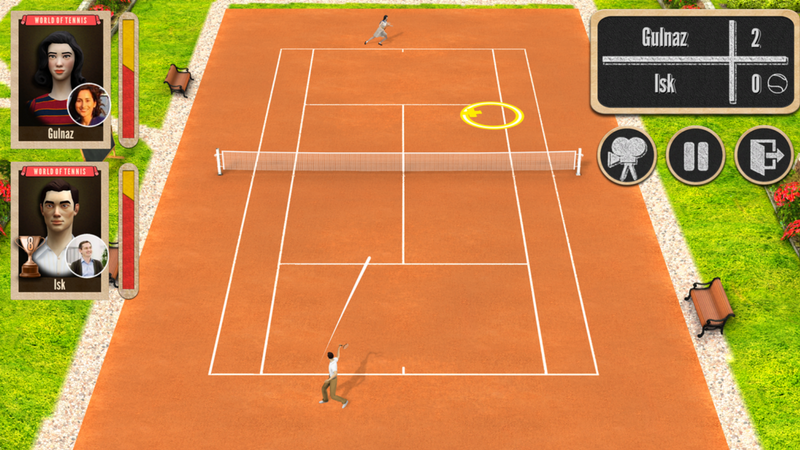 tennis game ios
