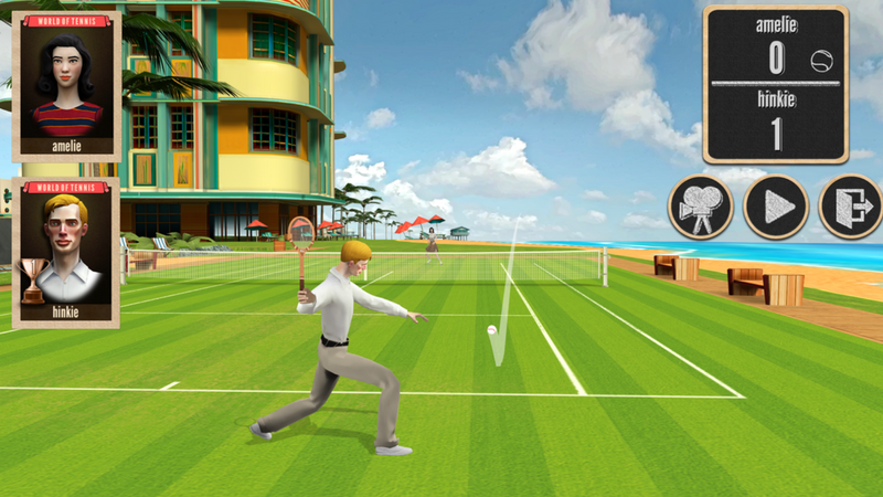 game tennis ios