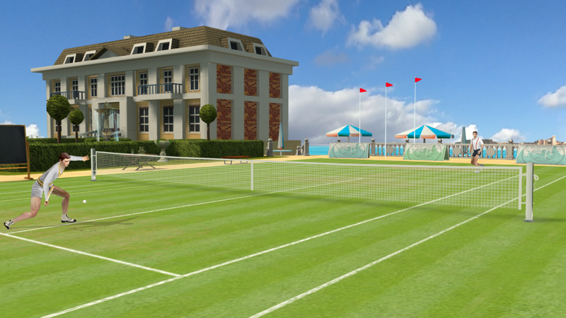 ios android tennis game