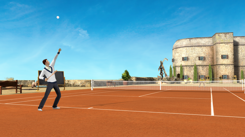 ios game tennis