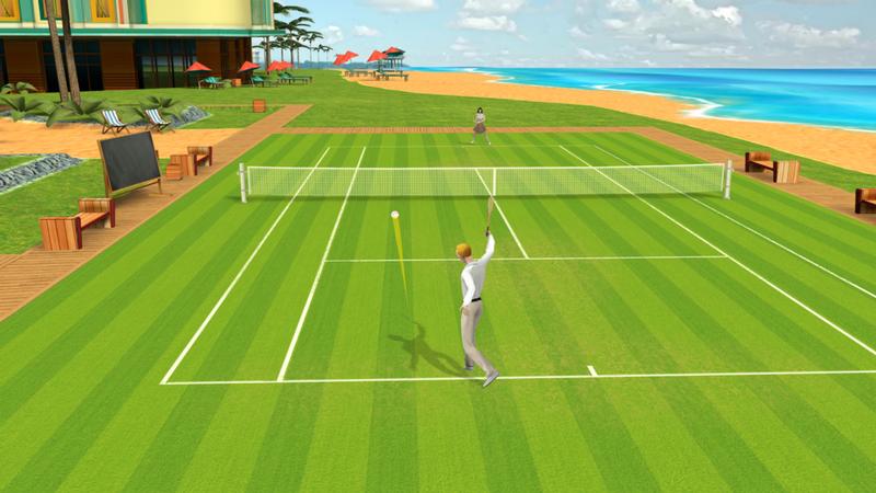 ios tennis game