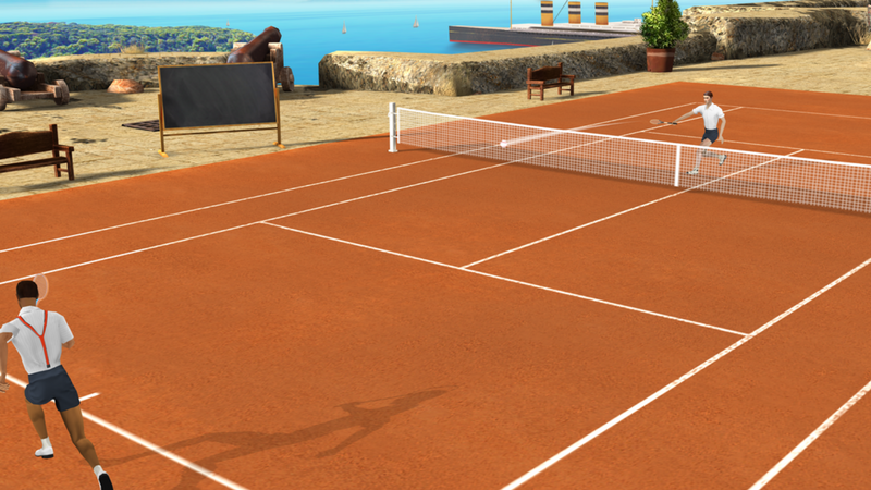 mobile tennis game