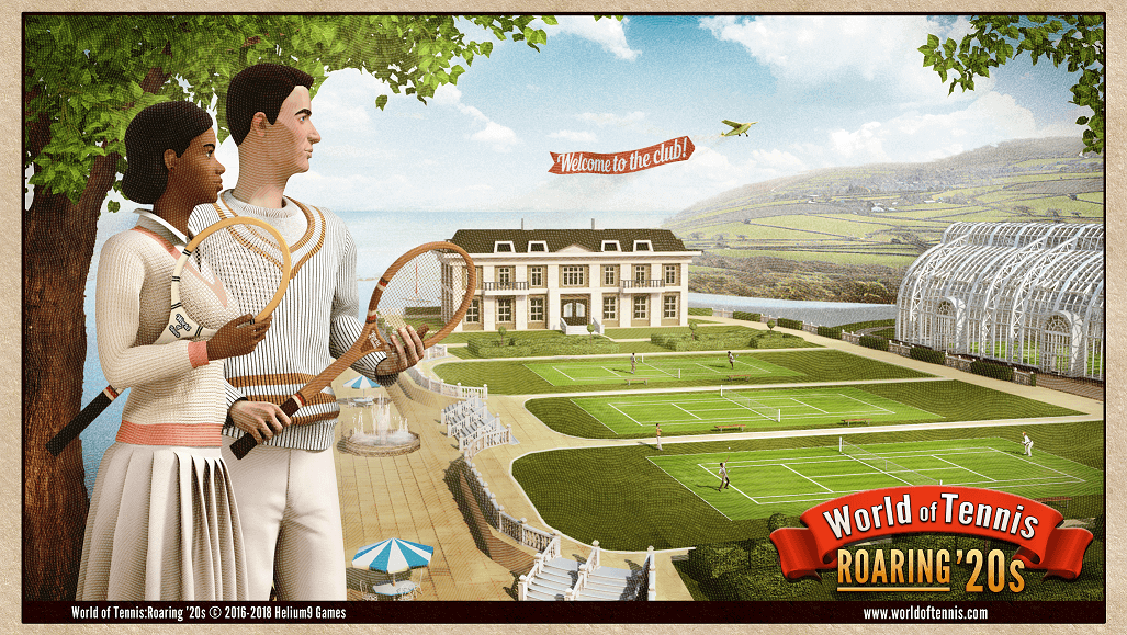 World of Tennis Roaring 20s